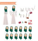 Affärskvinna för animering Royaltyfri Fotografi