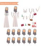Affärskvinna för animering Royaltyfria Foton