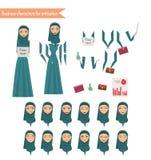 Affärskvinna för animering Arkivbild