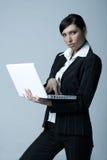 affärskvinnacoldver arkivbild