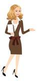 Affärskvinnor royaltyfri illustrationer