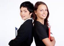 affärskvinnor Arkivbilder