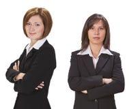 affärskvinnor arkivfoton