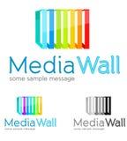 Affärslogo Fotografering för Bildbyråer