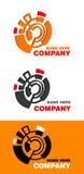 Affärslogo vektor illustrationer