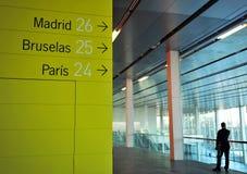 Affärsmöte, utställning och kongressmitt av Sevilla, Spanien royaltyfri fotografi