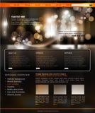 affärsmallwebsite Arkivbild