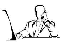 affärsman stock illustrationer