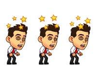 Affärsman Animation Sprite Arkivbild