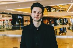 Affärsman för ung man royaltyfri foto