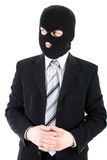 Affärsman i maskering Royaltyfri Fotografi