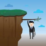 Affärsman Risk Concept royaltyfri illustrationer