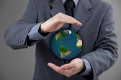 Skydda planetjord Arkivfoton