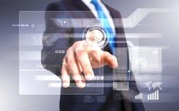 Teknologi i affär Fotografering för Bildbyråer