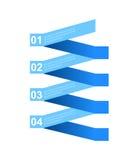 Affärsmomentpapper och nummerdesignmall Vektor Illustrationer