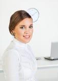 affärsmorgon Fotografering för Bildbyråer