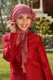 affärsmuslimkvinna royaltyfri foto