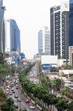 Affärsområde Bangkok royaltyfria bilder