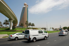Affärsområde Dubai Arkivfoton