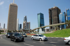 Affärsområde Dubai Arkivbilder
