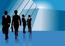Affärspresentationsbakgrund stock illustrationer