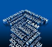 Affärsrådgivning och riktningsbegrepp Arkivfoto