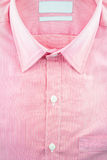 Affärsskjorta med en linje modell - formell skjorta Royaltyfria Bilder