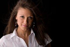 affärsståendekvinna Royaltyfria Bilder
