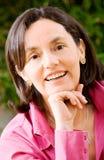affärsståendekvinna Fotografering för Bildbyråer
