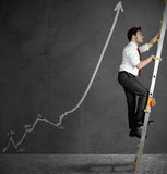 Affärsstatistik Arkivfoton
