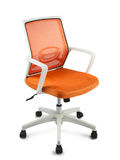 Affärsstol, for arbete och kopplar av, isolerat Royaltyfria Foton