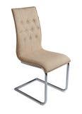 Affärsstol, for arbete och kopplar av, isolerat Arkivbild