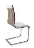 Affärsstol, for arbete och kopplar av, isolerat Arkivfoto