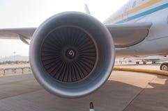 Affärsstråle för flygbuss A 318 Royaltyfria Bilder