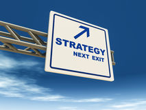 Affärsstrategi stock illustrationer