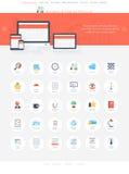 Affärssymboler Arkivfoto