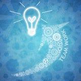 Affärsteamwork och innovation Royaltyfria Foton