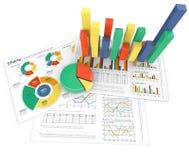 Affärstillväxt och kapacitet vektor illustrationer