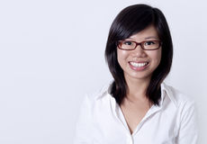affärsutbildningskvinna Arkivfoto