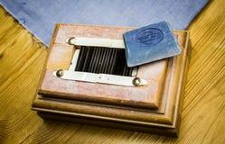 Affûteuse de craie de tailleur photo libre de droits