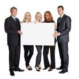 affärskollegor grupperar lyckligt royaltyfri bild
