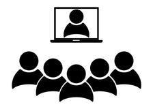 Aff?rsm?te, diskussion Teamworkaktivitet krage isolerad vit arbetare ocks? vektor f?r coreldrawillustration royaltyfri illustrationer