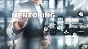 Aff?rsMentoring Personlig coachning Utbildande personligt utvecklingsbegrepp Blandat massmedia arkivfoto