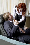 Affair in office Stock Photography