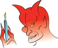 Affaire avec le diable illustration stock