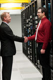 Affaire de Datacenter Photos stock