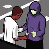 Affaire de drogues Photos libres de droits