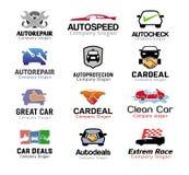 Affaire de voiture et et Logo Repair Design illustration stock