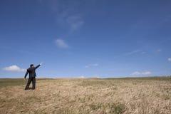 Affaires écologiques réussies Photographie stock libre de droits