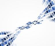 Affaires élevées d'informatique d'Internet futuriste de la Science illustration stock